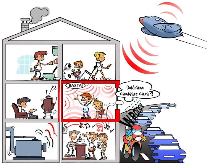 Inquinamento acustico i palliativi non bastano l unit 15 giugno 2013 paolo serra bologna - Rumori molesti vicini di casa ...